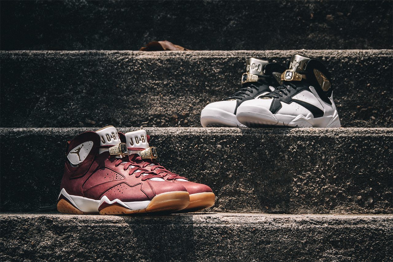 Air Jordan 7 Retro Cigar Champagne Pack 1