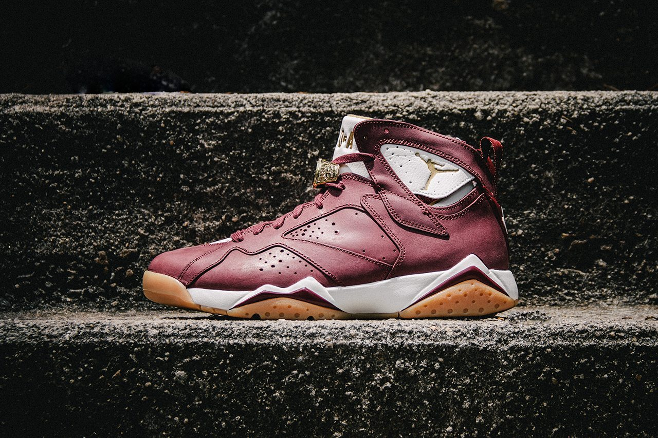 Air Jordan 7 Retro Cigar Champagne Pack 3