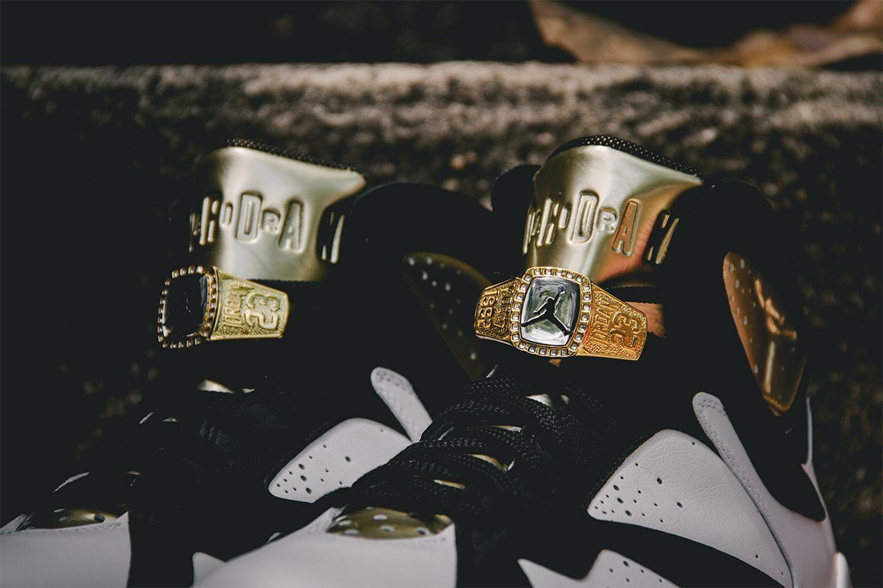 Air Jordan 7 Retro Cigar Champagne Pack 6