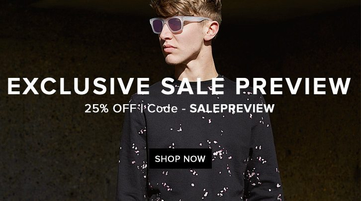 END Exclusive Sale Preview