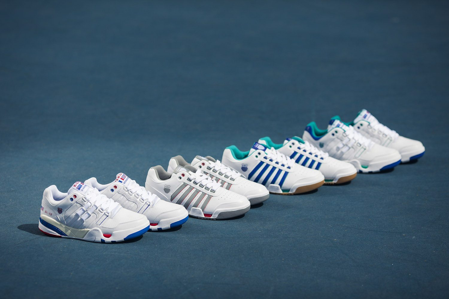 K Swiss The Majors Pack 5
