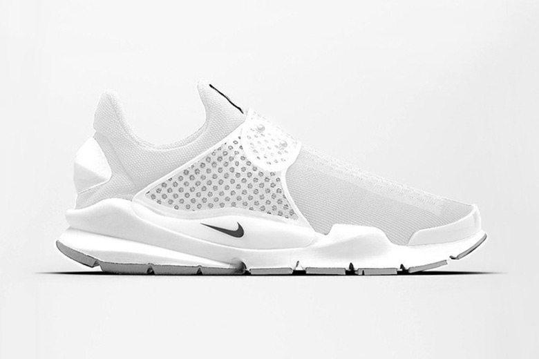Nike Sock Dart SP All White