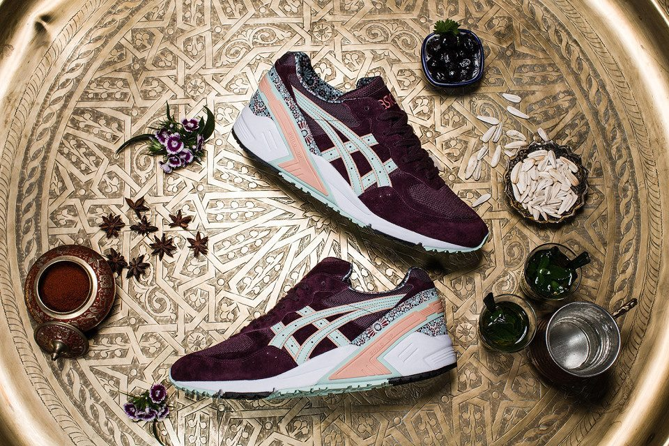 Overkill x ASICS Gel Sight Desert Rose 1