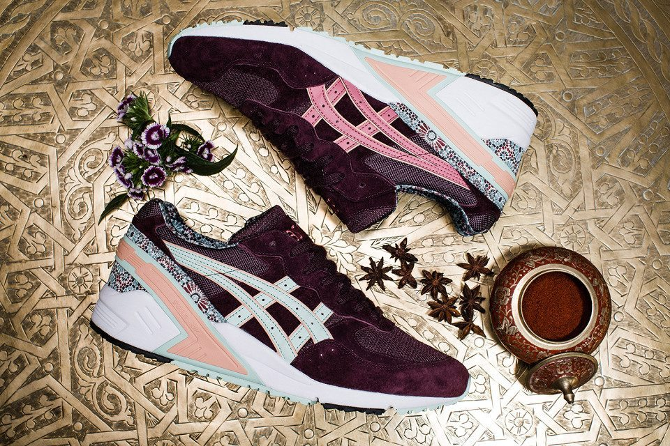 Overkill x ASICS Gel Sight Desert Rose 3