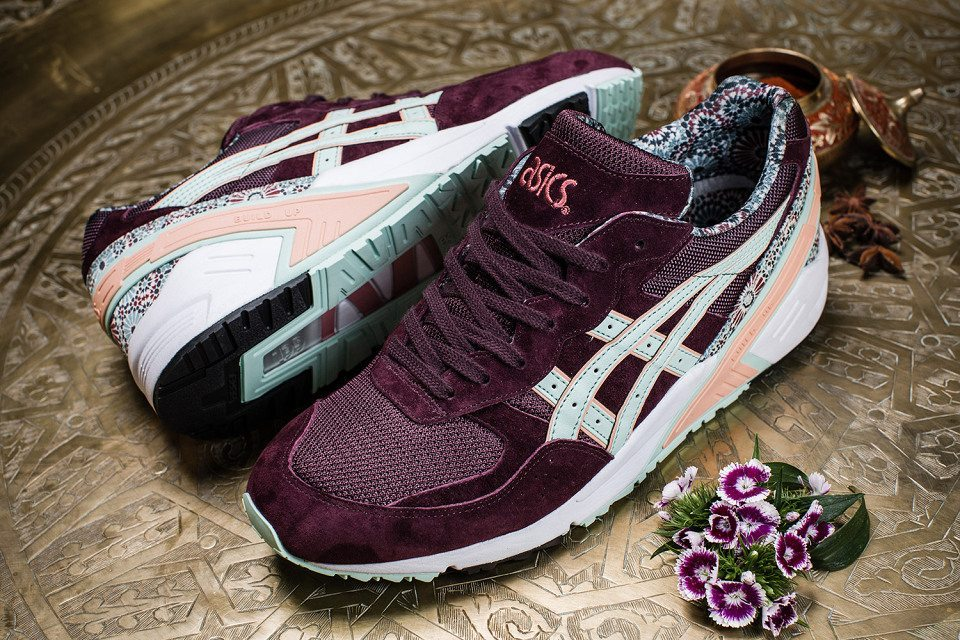 Overkill x ASICS Gel Sight Desert Rose 5