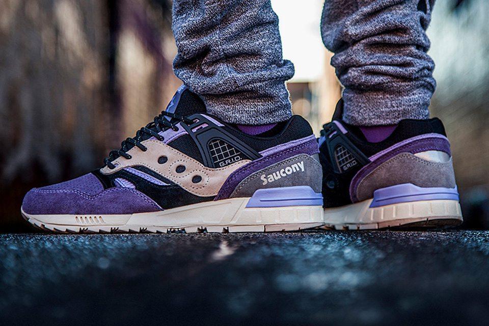 Sneaker Freaker X Saucony Grid SD Kushwhacker 03