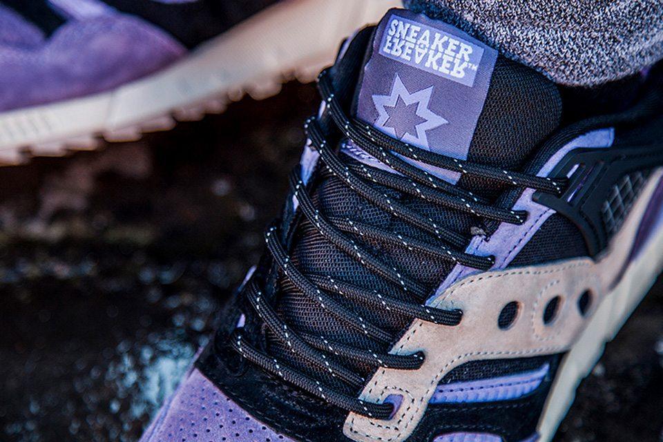 Sneaker Freaker X Saucony Grid SD Kushwhacker 04