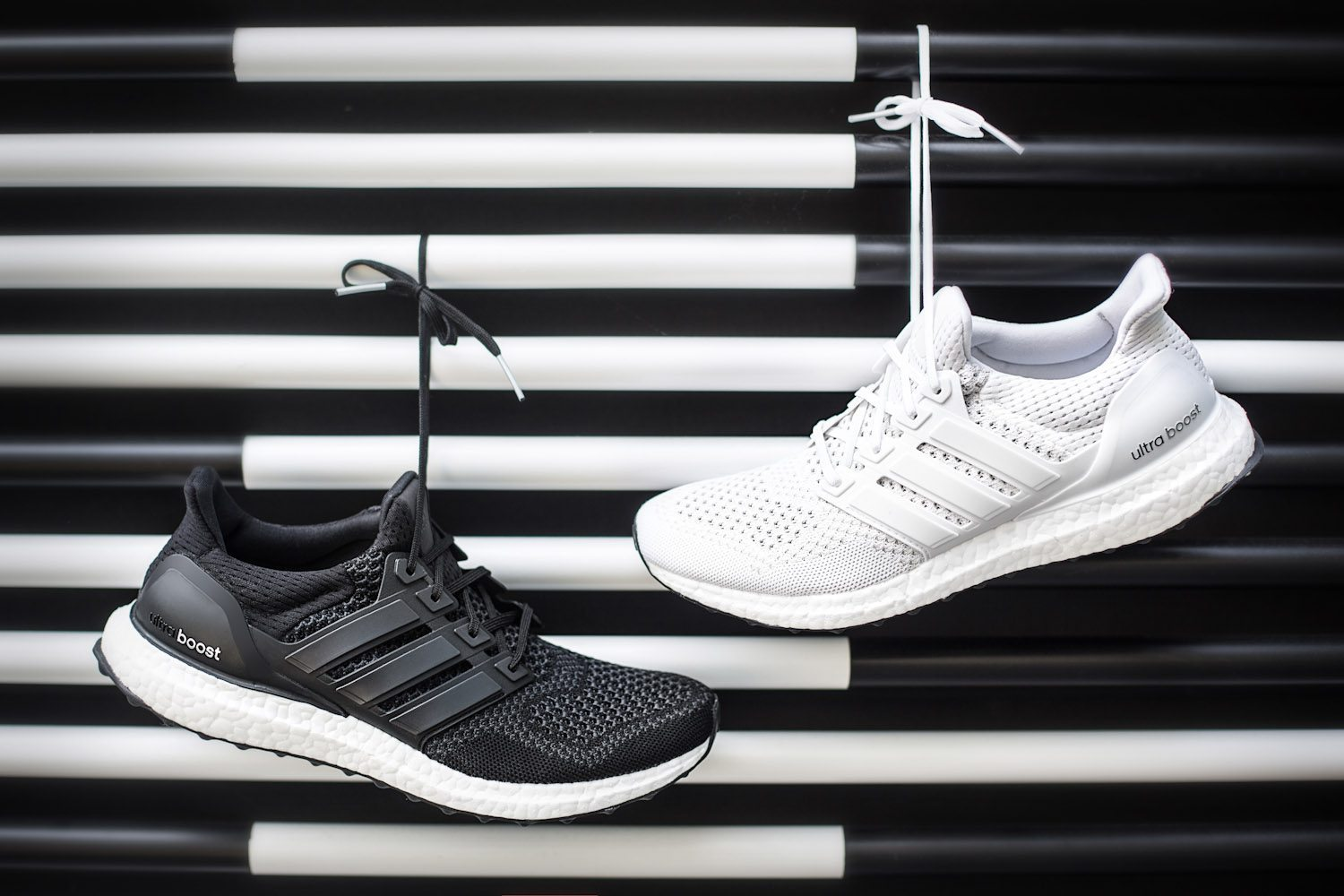 adidas Ultra BOOST Black White 8