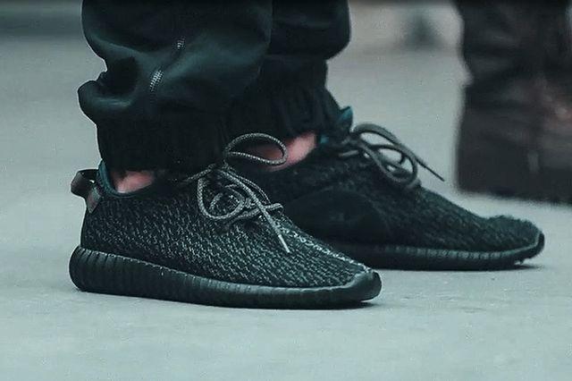 adidas Yeezy 350 Boost Low Black 3