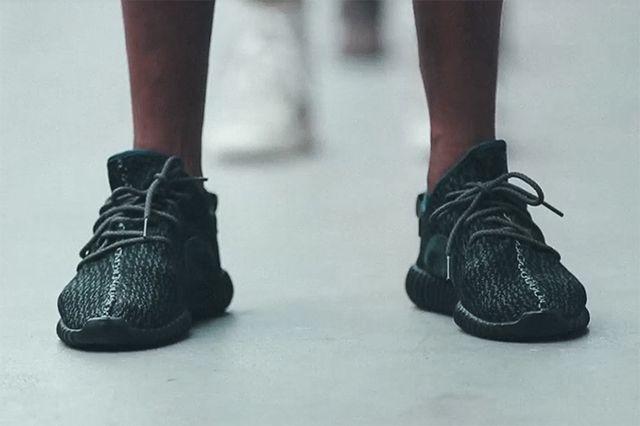 adidas Yeezy 350 Boost Low Black 4