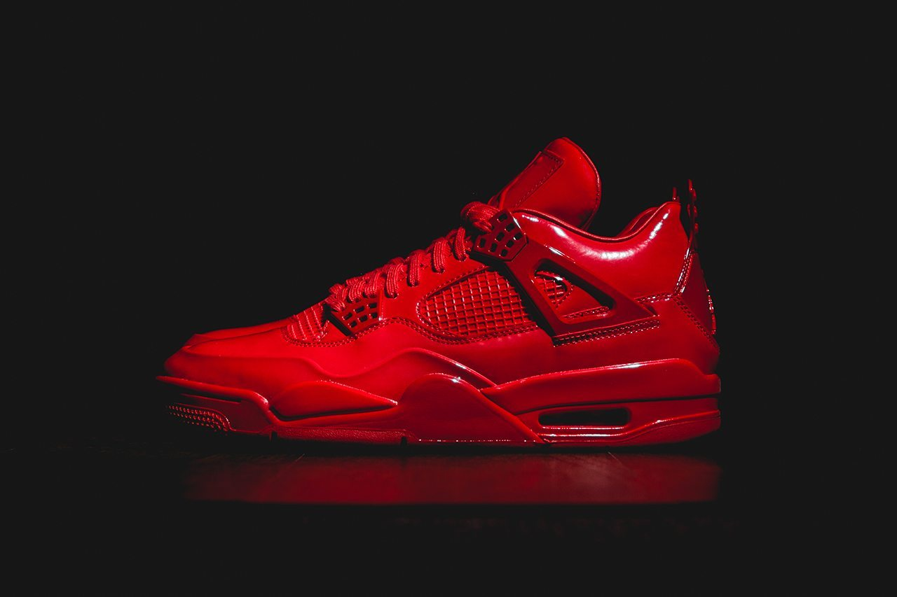 Air Jordan 11Lab4 University Red 1