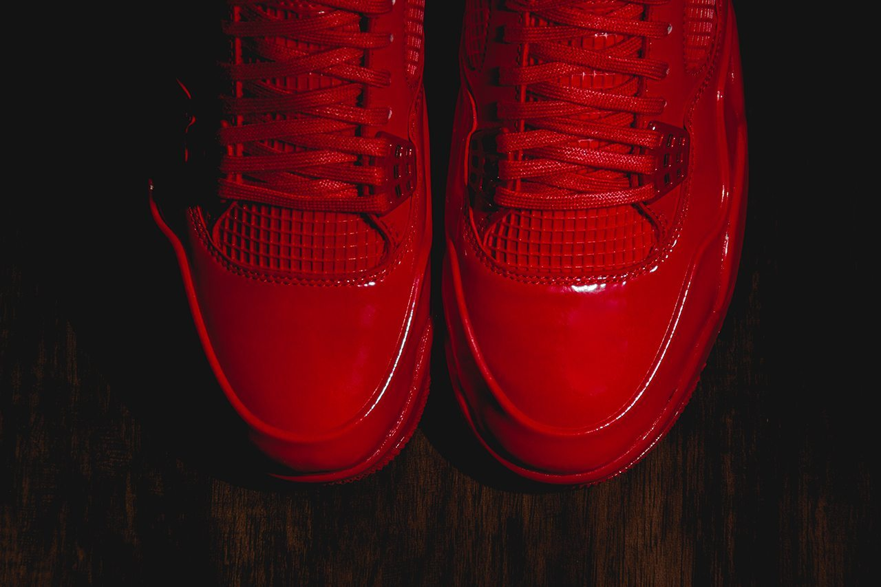 Air Jordan 11Lab4 University Red 3