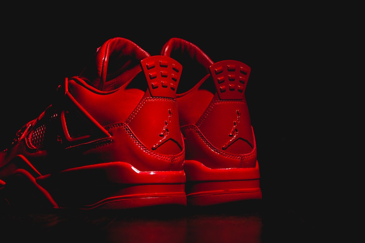 Air Jordan 11Lab4 University Red 4