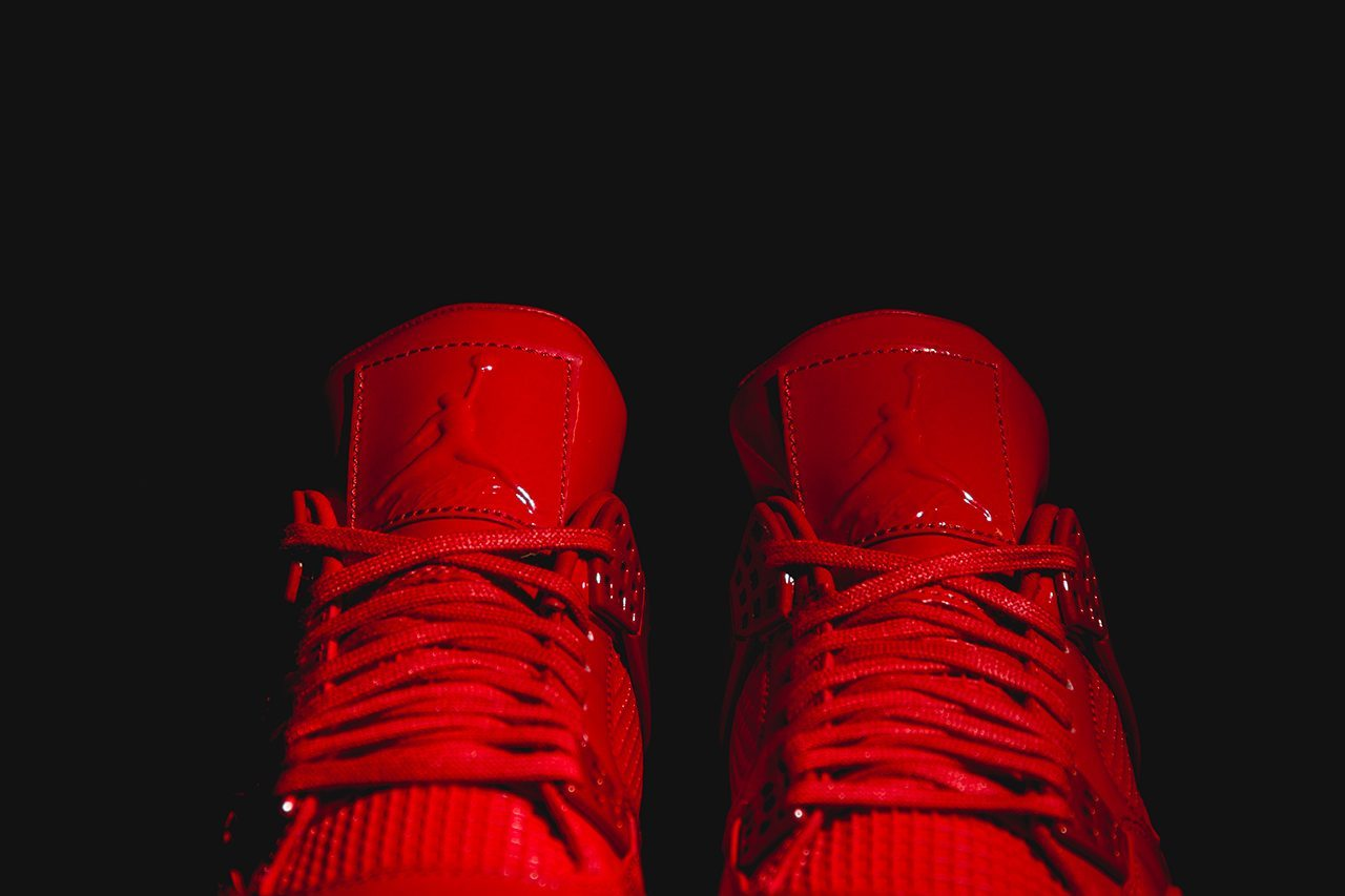 Air Jordan 11Lab4 University Red 5