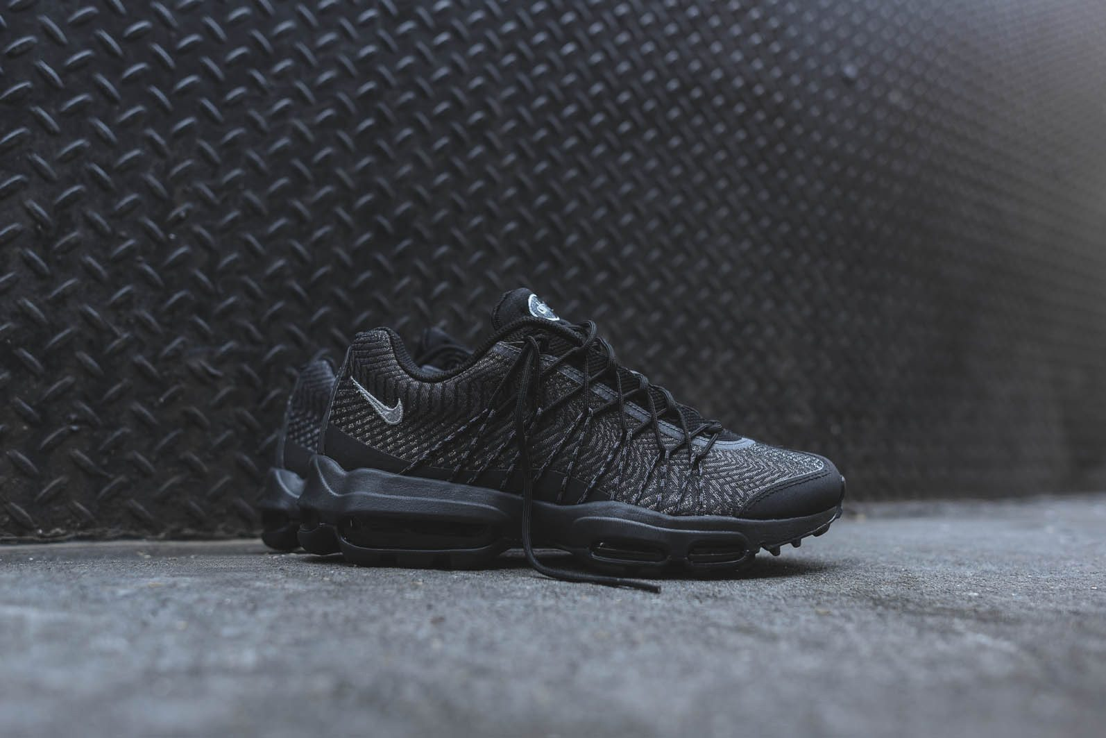 Nike Air Max 95 Ultra JCRD Black Dark Grey 1