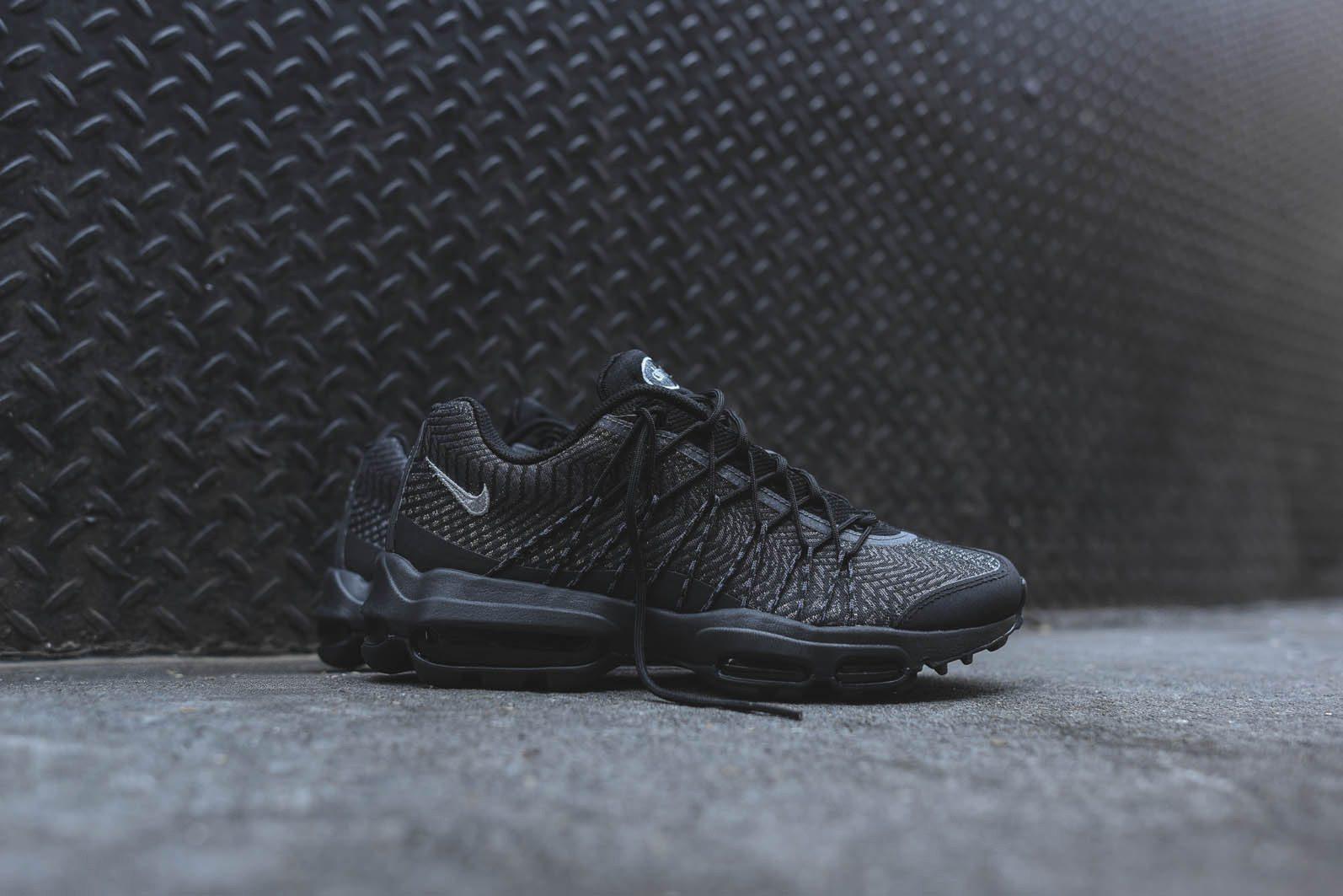Nike Air Max 95 Ultra JCRD Black Dark Grey 1