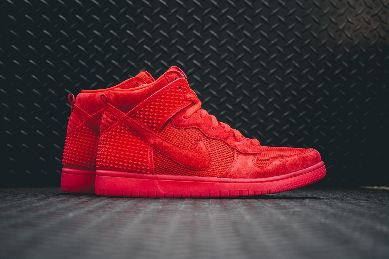 Nike Dunk CMFT PRM Light Crimson 1