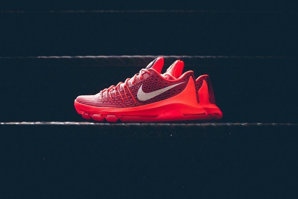 Nike KD 8 Bright Crimson 1