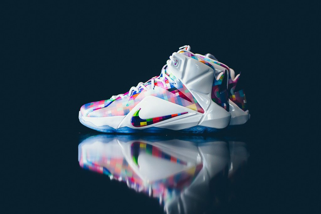 Nike LeBron 12 EXT Prism 1
