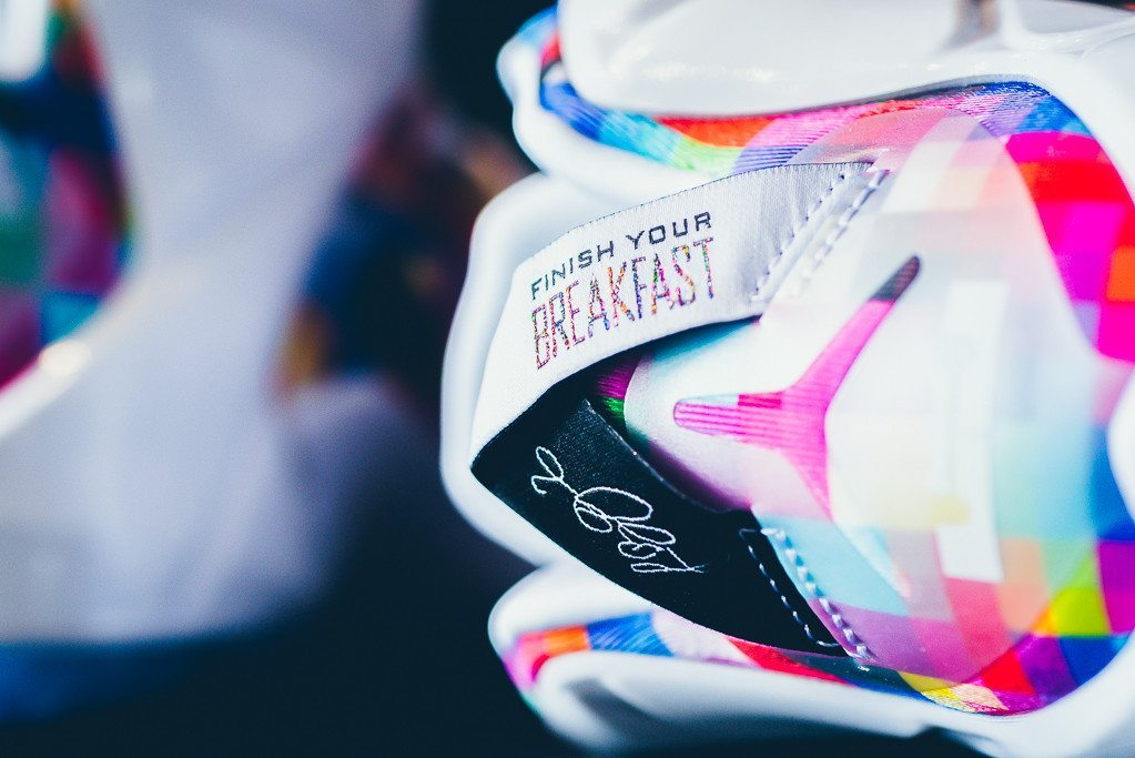 Nike LeBron 12 EXT Prism 4