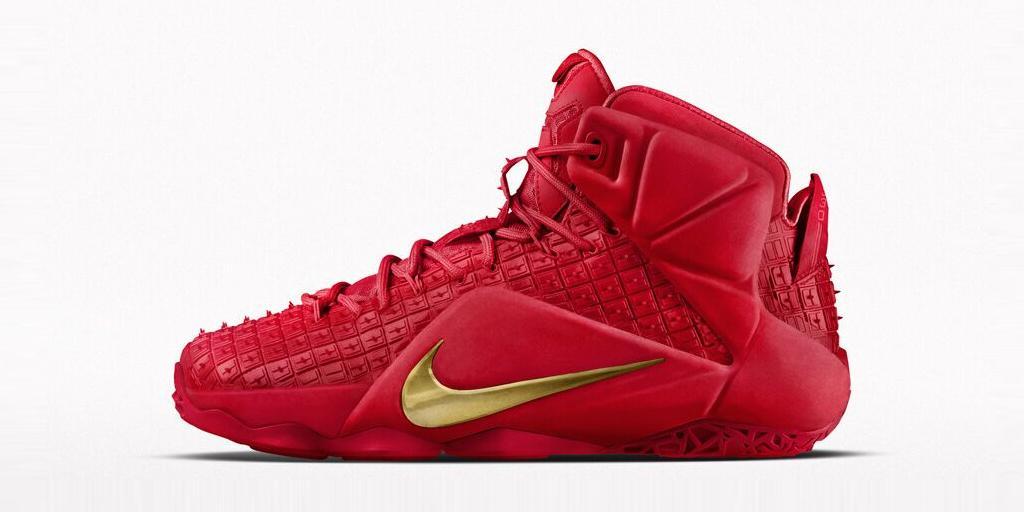Nike LeBron 12 EXT iD