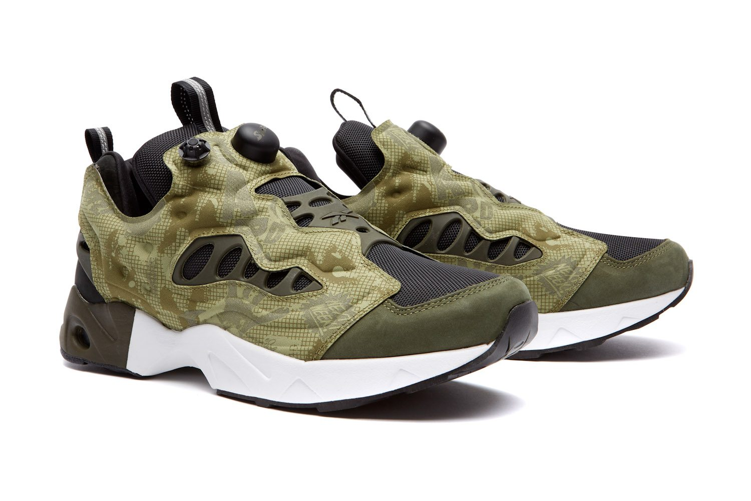 Swifty x Reebok Classic Instapump Fury Road Night Camo 5