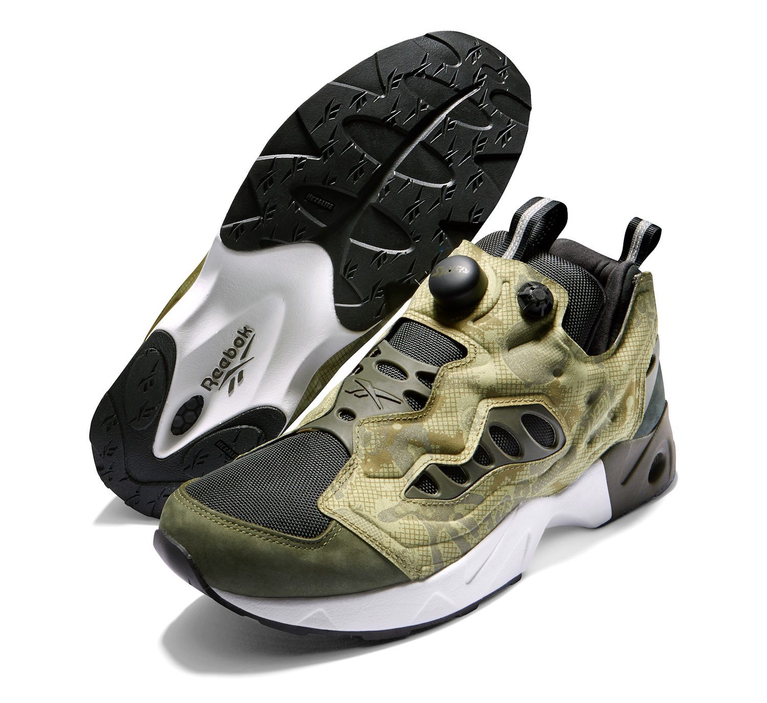 Swifty x Reebok Classic Instapump Fury Road Night Camo 6