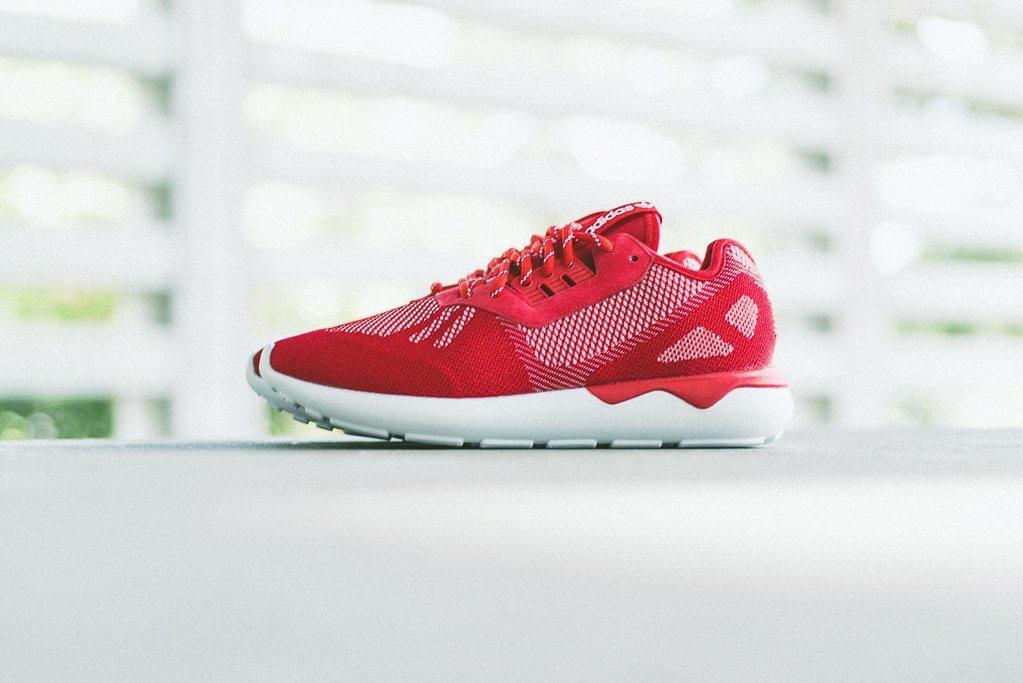 adidas Tubular Runner Weave Scarlet 1