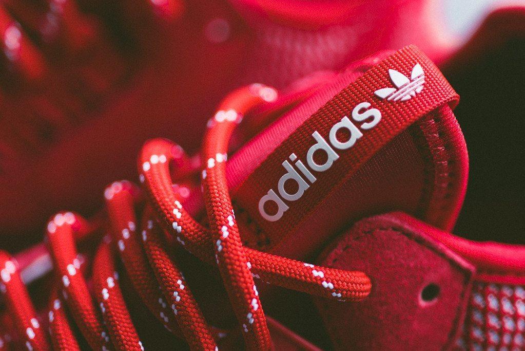 adidas Tubular Runner Weave Scarlet 2