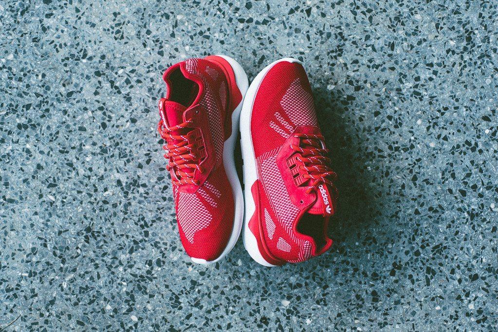 adidas Tubular Runner Weave Scarlet 7