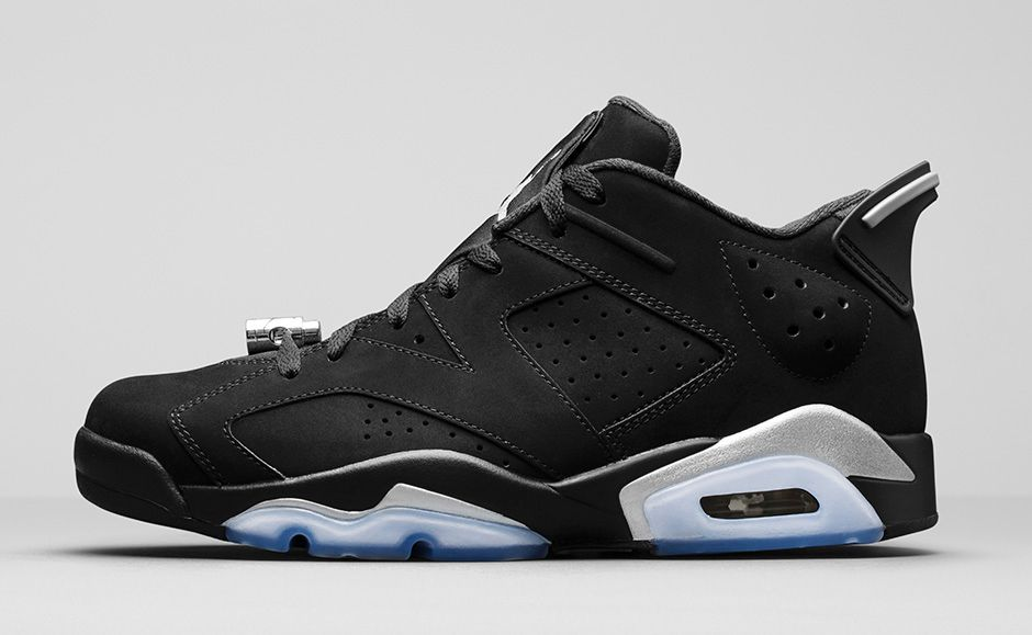 Air Jordan 6 Retro Low Metallic Silver 2