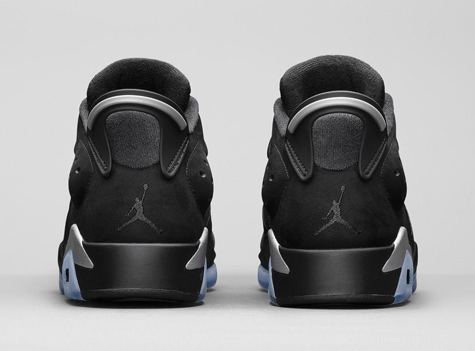 Air Jordan 6 Retro Low Metallic Silver 4