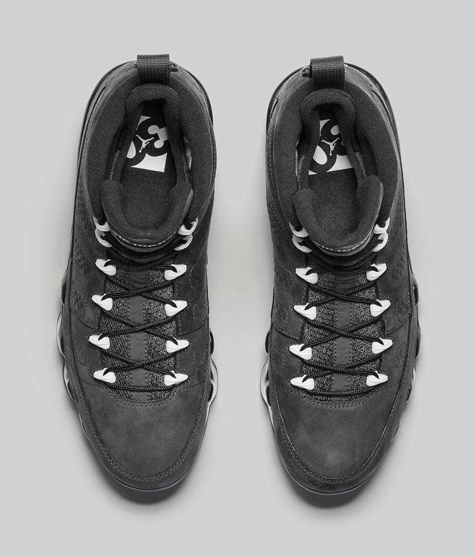 Air Jordan 9 Retro Anthrcite 3