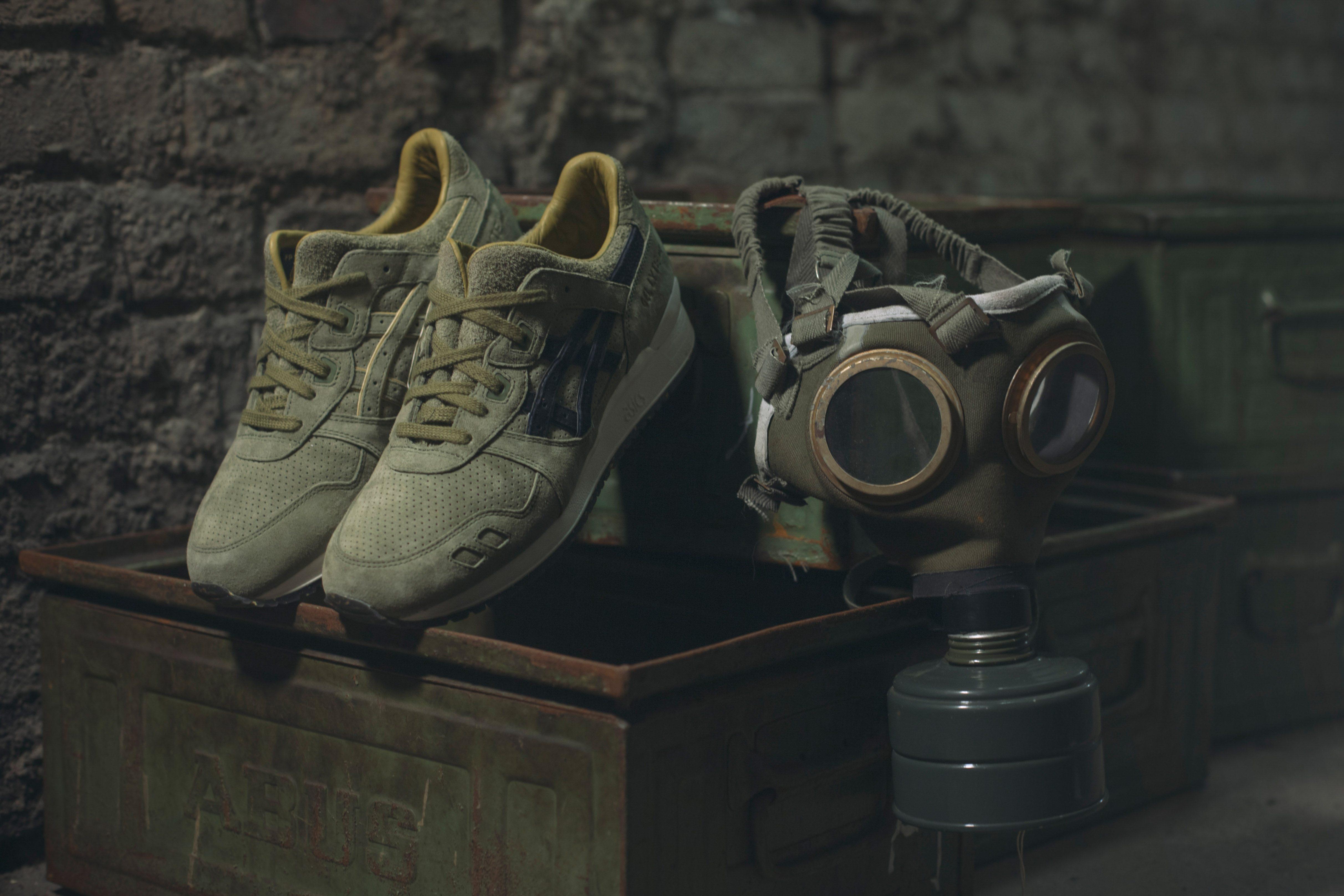 Footpatrol x Asics Gel Lyte III Squad 13