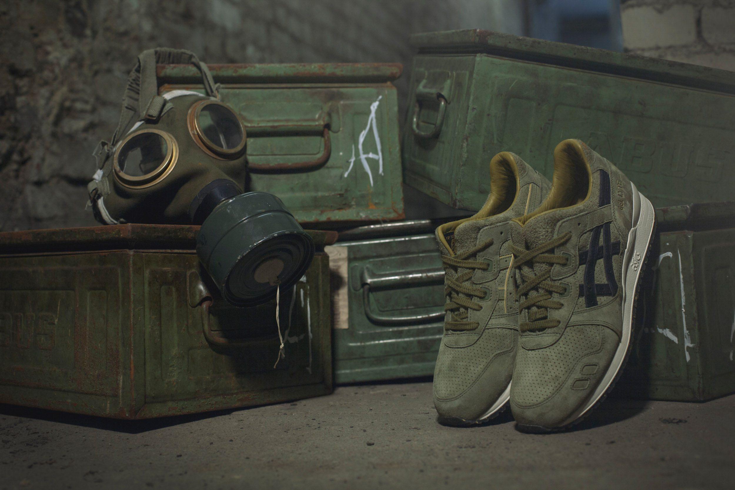 Footpatrol x Asics Gel Lyte III Squad 2
