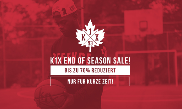 KICKZ K1X END OF SEASON SALE