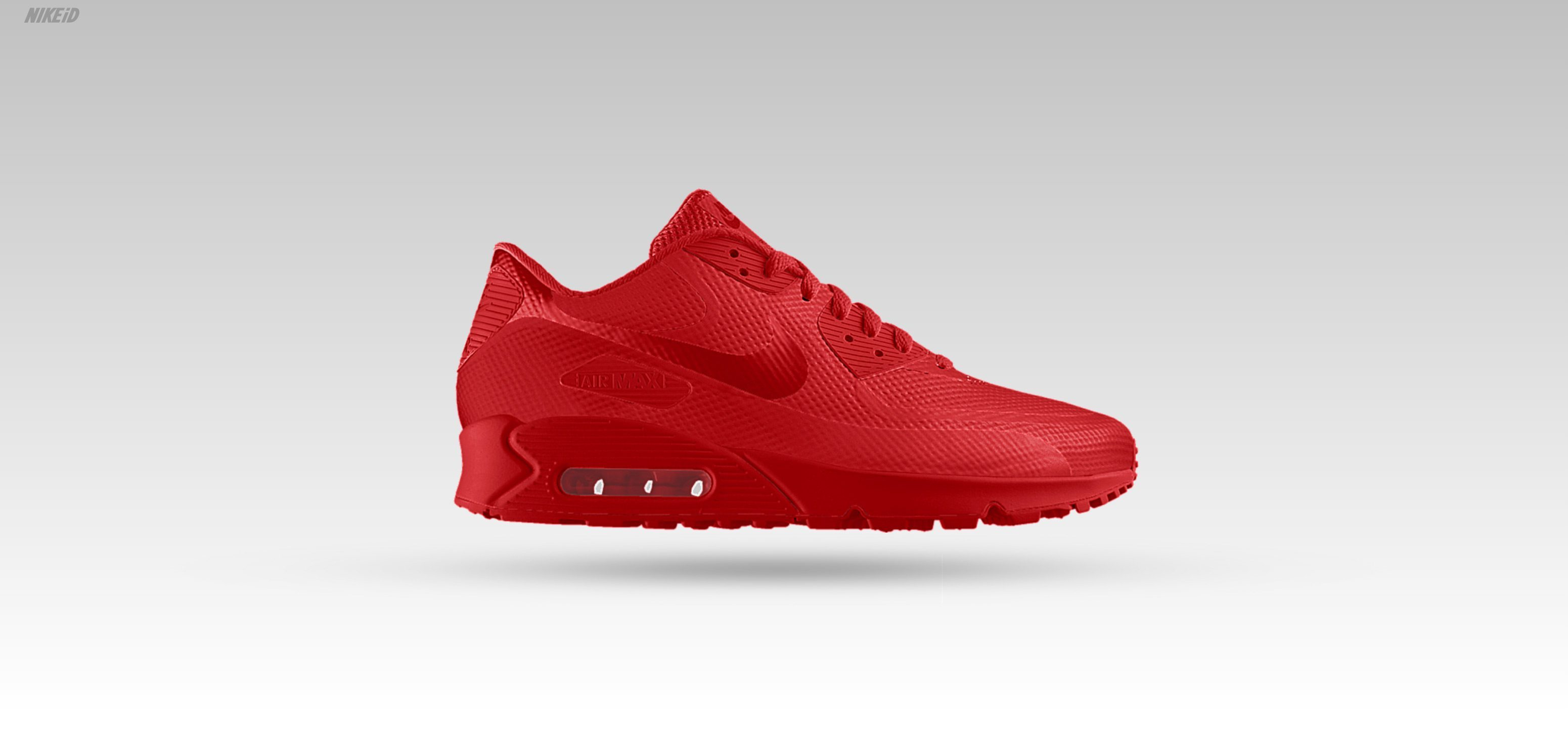 Nike Air Max 90 Hyperfuse iD All Red