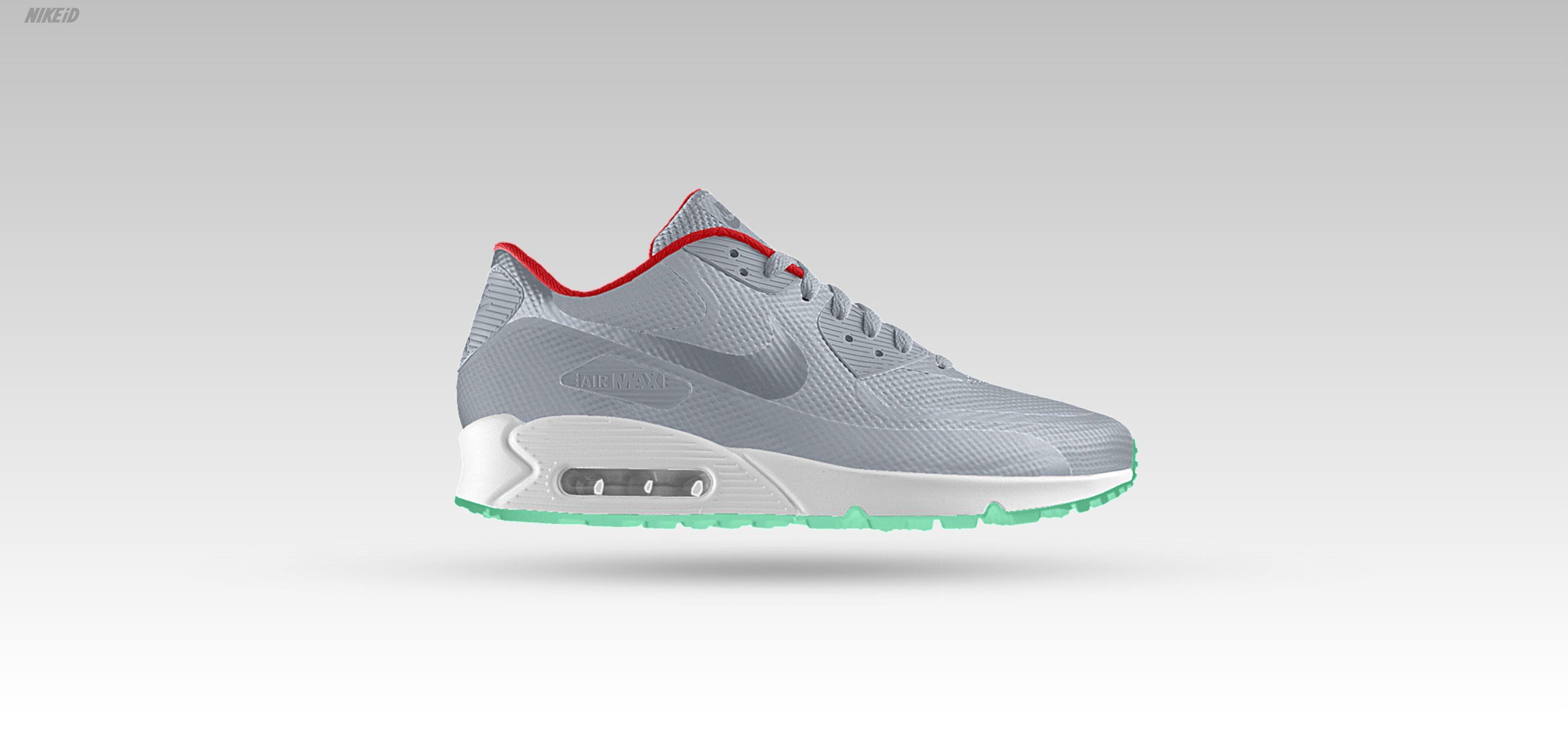 Nike Air Max 90 Hyperfuse iD Wolf Grey
