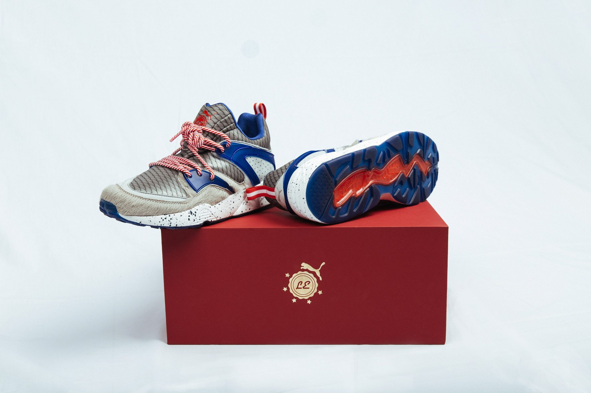 PUMA x Limited Edt Blaze of Glory SG50 7