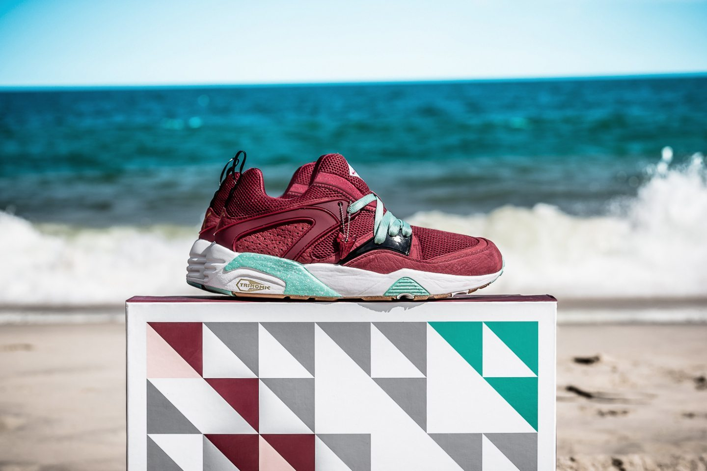 Sneaker Freaker x Packer x Puma Blaze of Glory Bloodbath 2