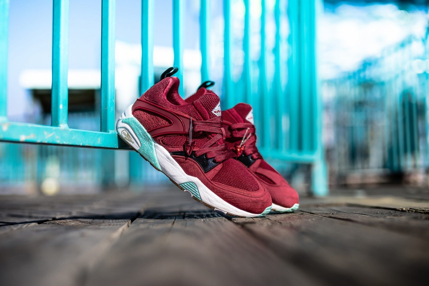 Sneaker Freaker x Packer x Puma Blaze of Glory Bloodbath 3