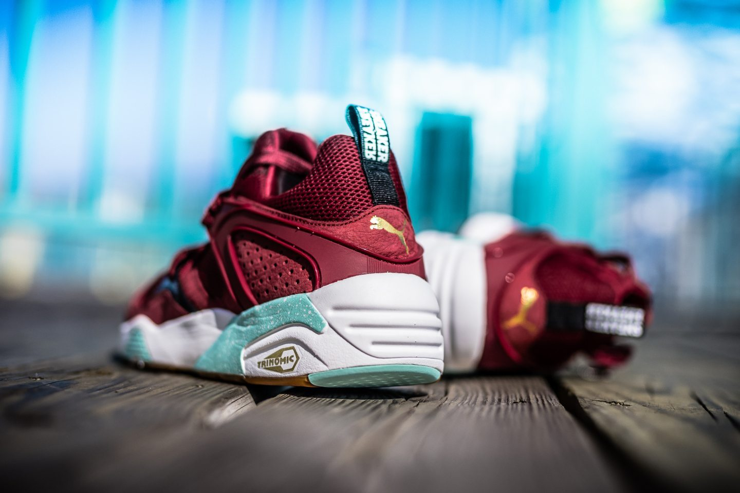 Sneaker Freaker x Packer x Puma Blaze of Glory Bloodbath 4
