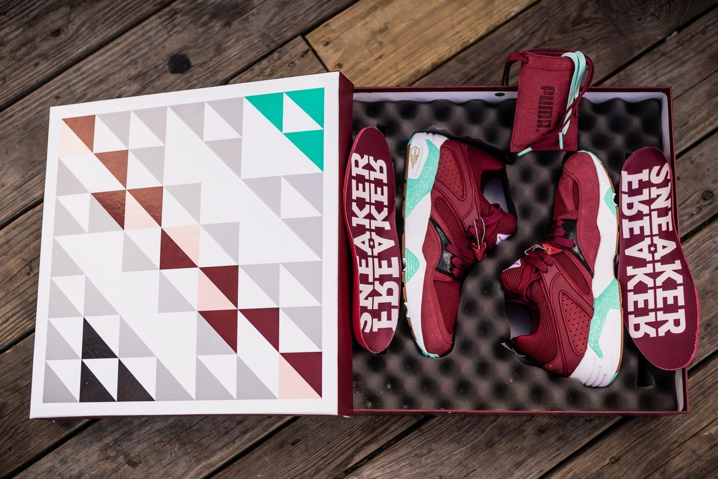 Sneaker Freaker x Packer x Puma Blaze of Glory Bloodbath 5