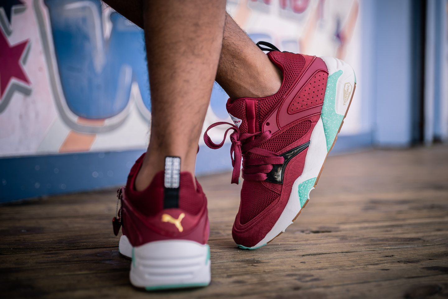 Sneaker Freaker x Packer x Puma Blaze of Glory Bloodbath 8