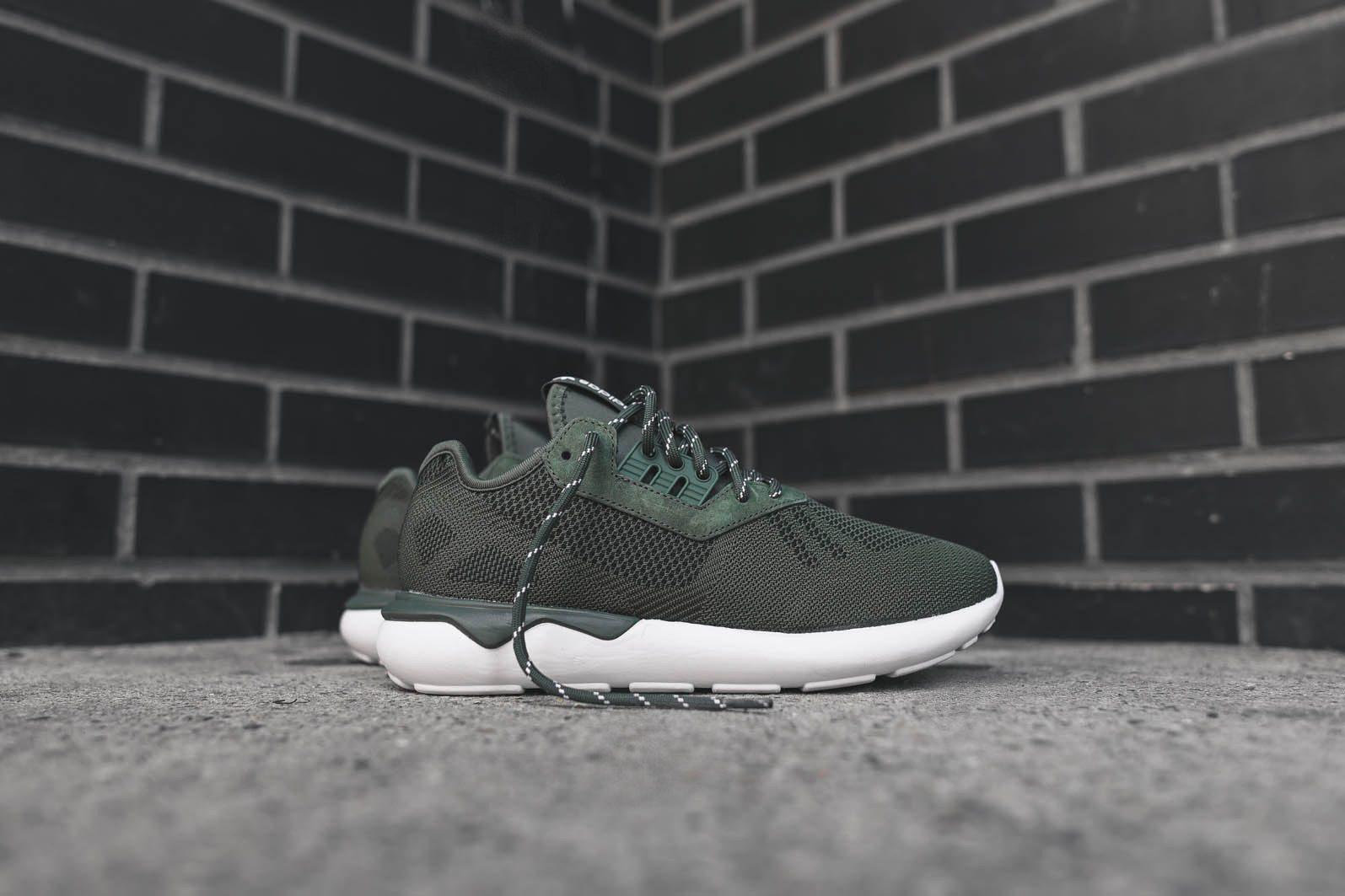 adidas Originals Tubular Runner Weave Base Green 1