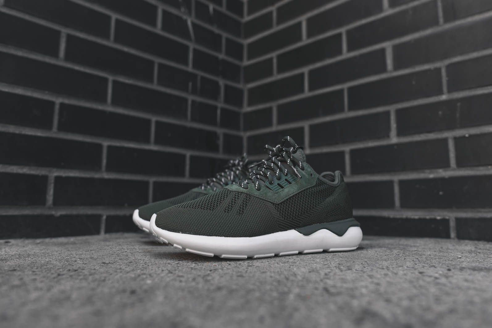 adidas Originals Tubular Runner Weave Base Green 2