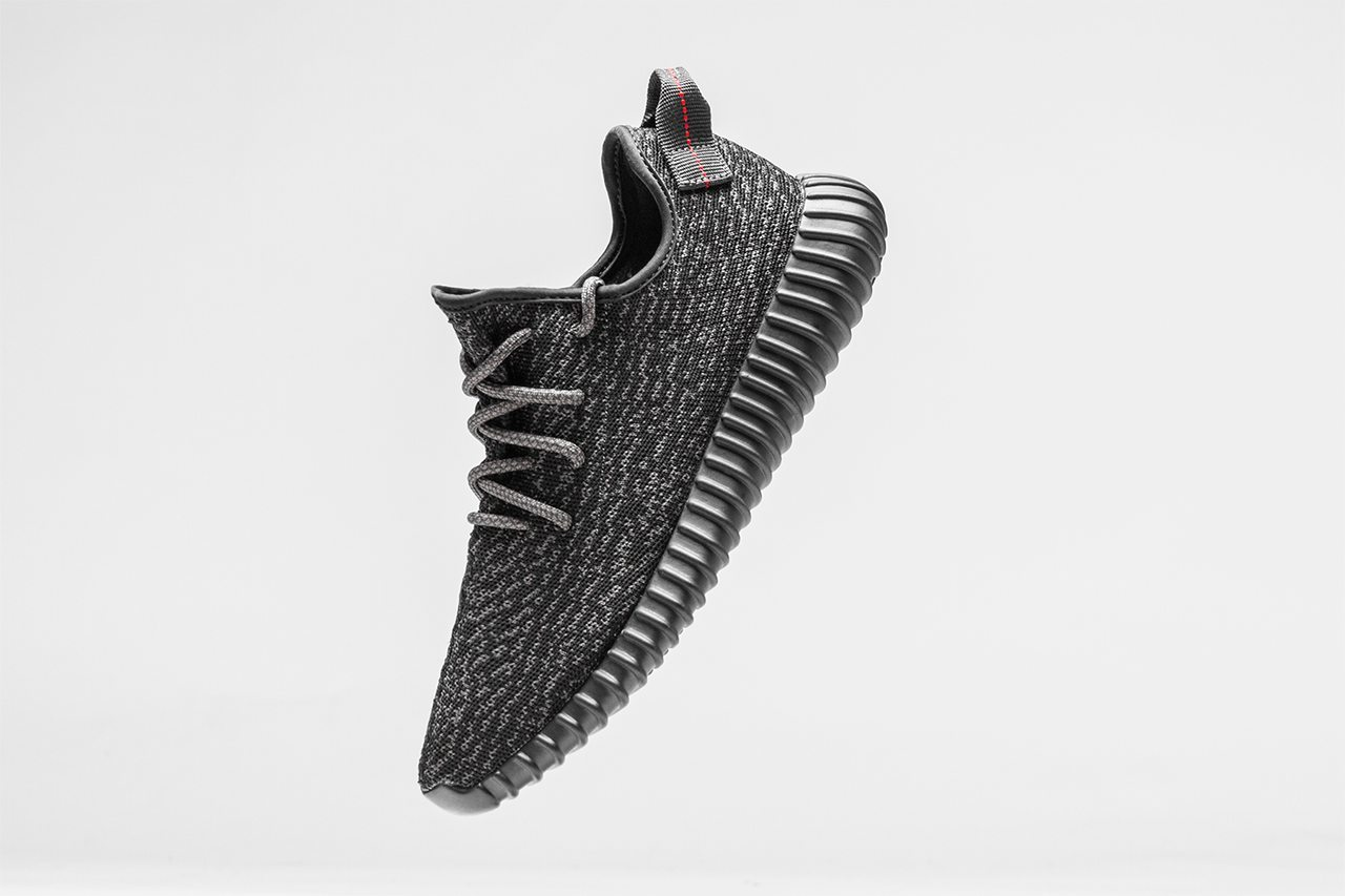 adidas Originals Yeezy 350 Boost Pirate Black 1