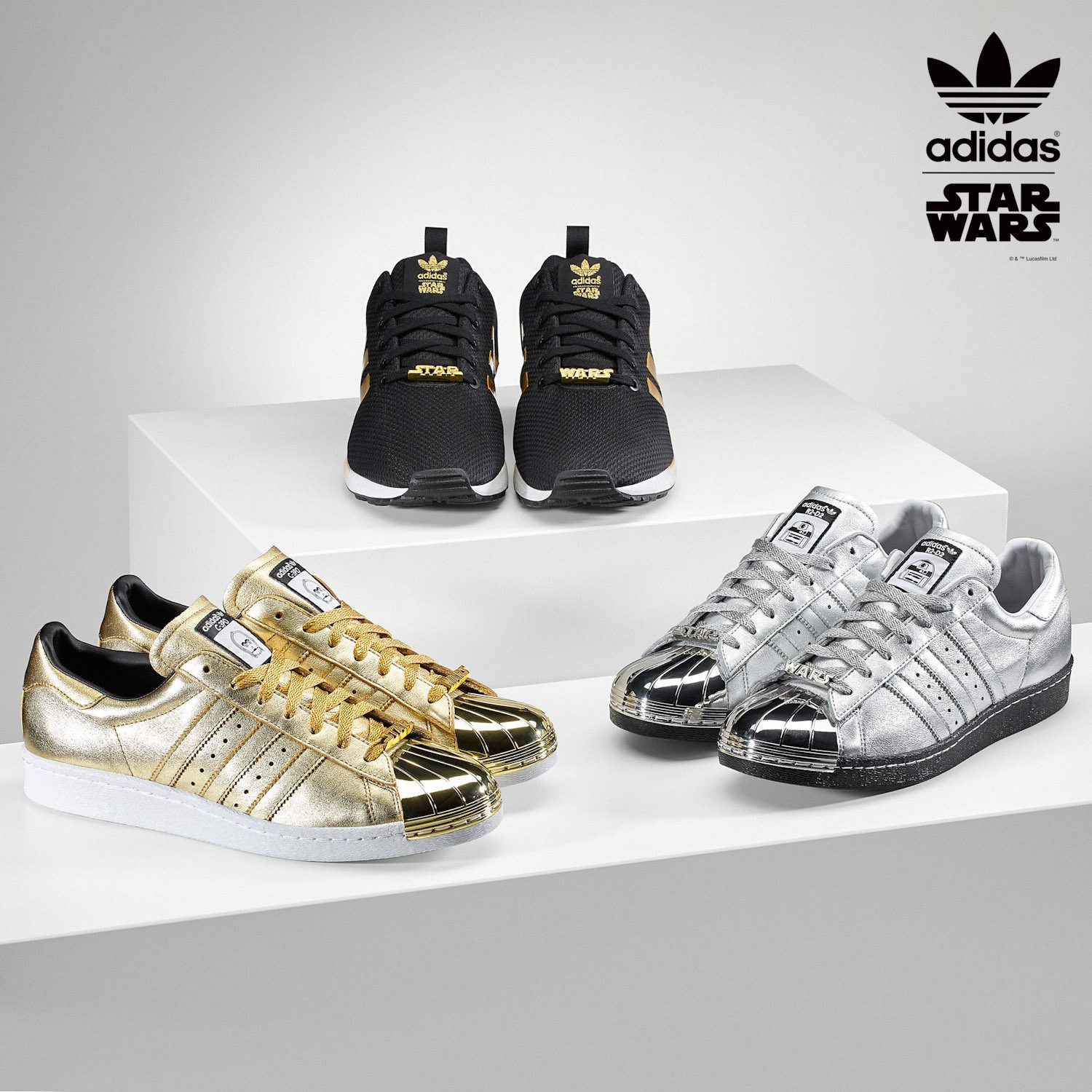 adidas Originals mi Superstar 80s Star Wars 1