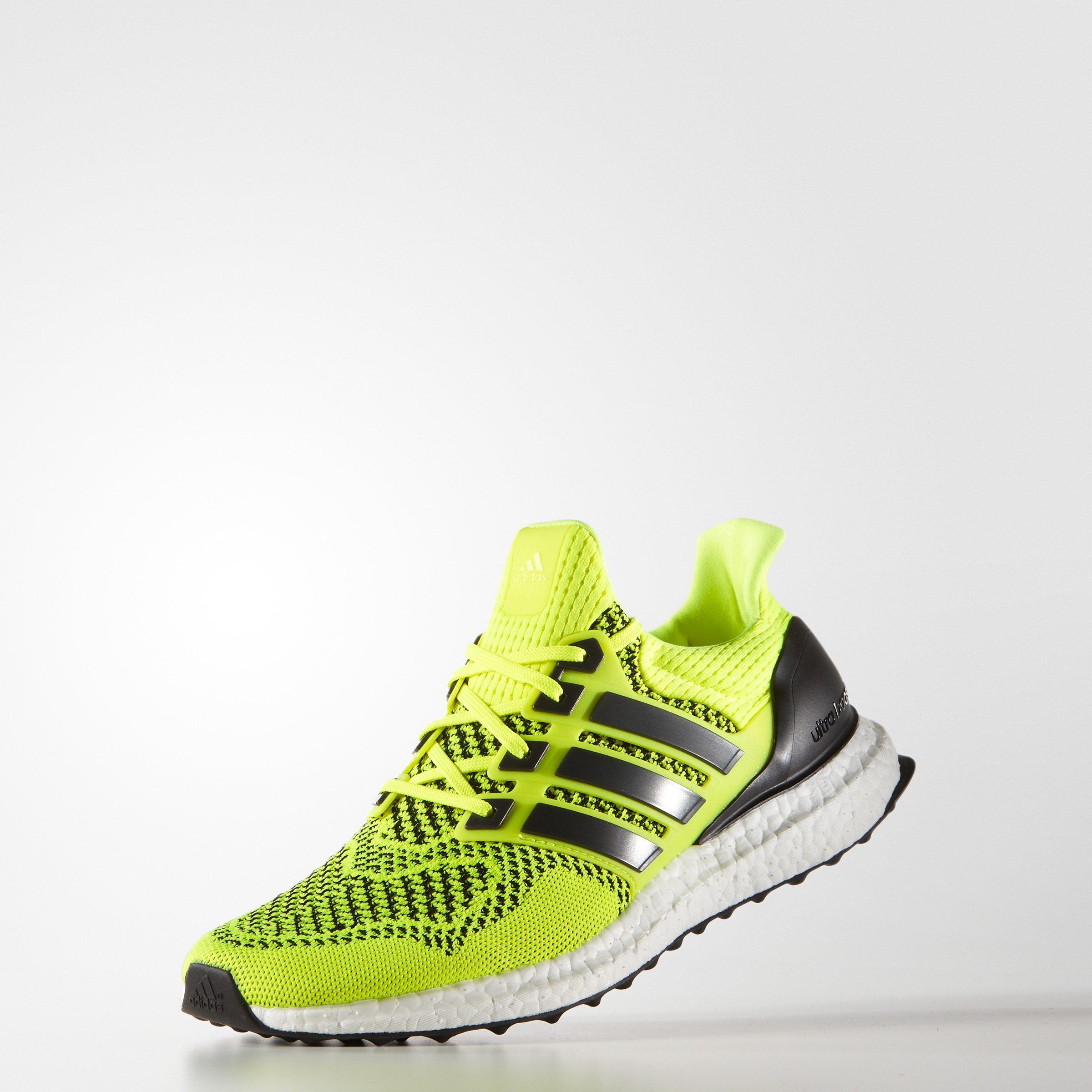 adidas Ultra BOOST Solar Yellow 5