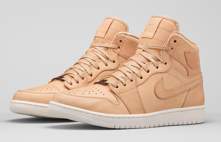 Air Jordan 1 Pinnacle Vachetta Tan 1